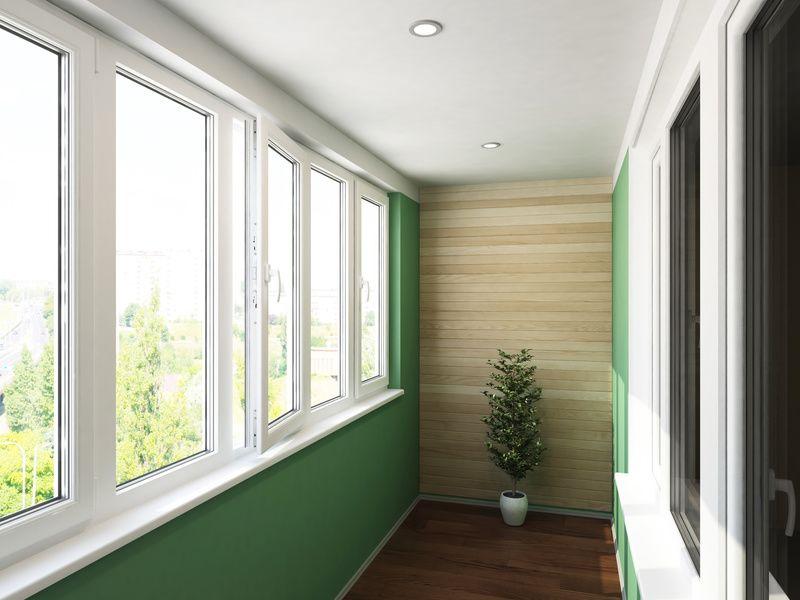 Отделка балконов и лоджий: встроенный шкаф на балкон в компа.